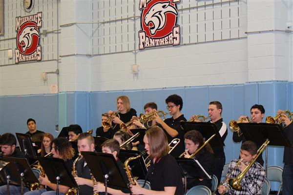 HS Band and Chorus Assembly