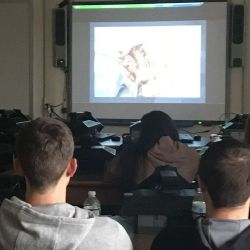 VIDEO-MP HS Students Viewed a Live Elbow Surgery that took place in  Canada today.